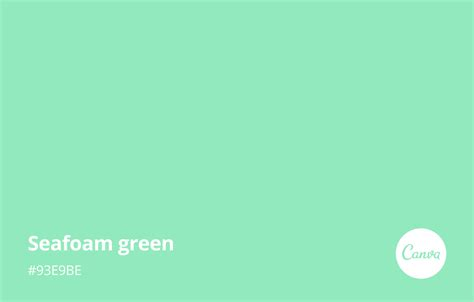 color seafoam seafoam green meaning combinations and hex code canva
