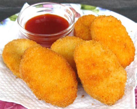 gambar cara membuat nugget ayam resep nugget ayam sehat enak resep masakan sederhana