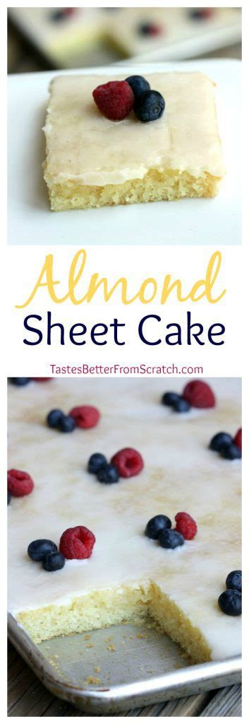 Get Rid Of The Summer Cake Look Newsvine Fashion 2 by Almond Sheet Cake Recipe Tastes Better From Scratch
