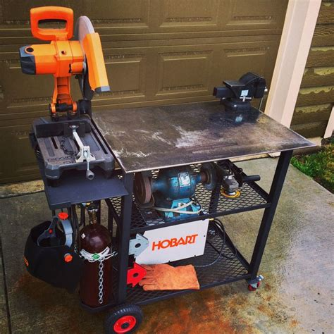 welding bench ideas welding table i like it pinterest