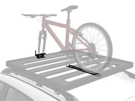 roof rack bike carrier fork mount