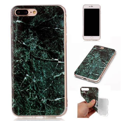Soft Casing 3d Tpu Iphone 7 Original 3d painted marble gel soft tpu slim protective cover