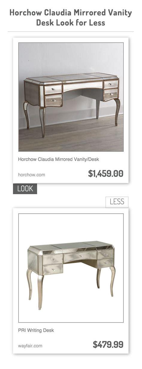 diy mirrored desk the 25 best mirrored vanity desk ideas on