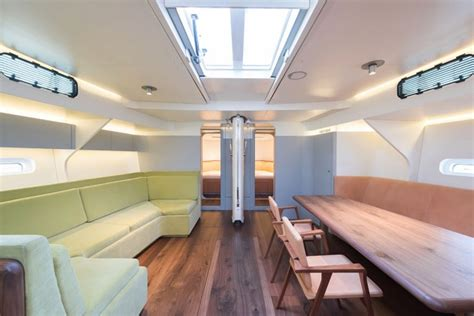New Boat Interior by Chipperfield Designs The Interior Of A New Boat Abitare
