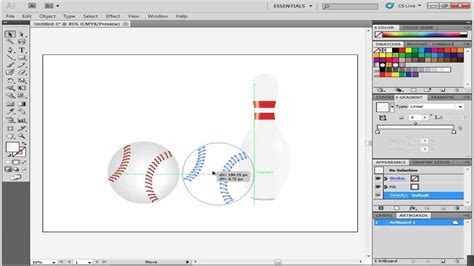 How To Use Smart Guides In Adobe Illustrator Youtube How To Use Illustrator Templates