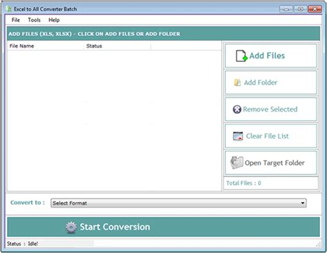 all format video converter for windows 7 excel to all converter batch full windows 7 screenshot