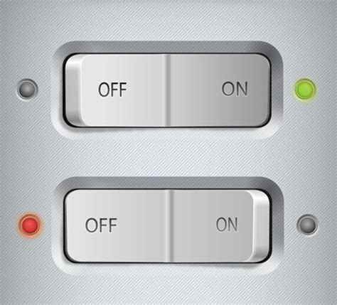 switch buttons psd template buttons psd file free download