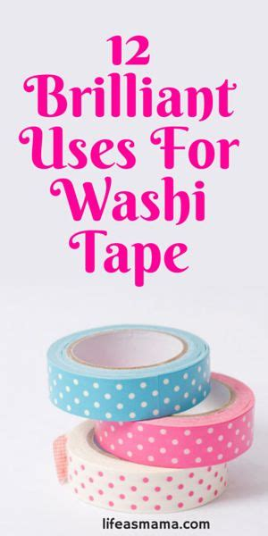 uses of washi tape 12 brilliant uses for washi tape for kids washi tape