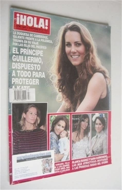 Kate In Magazine I Am A Bit Wacky by Ihola Magazine Kate Middleton Cover 3 October 2012