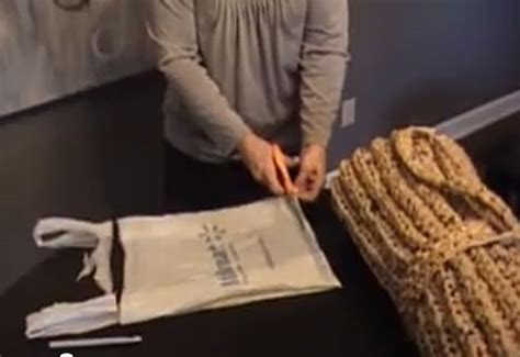 How To Make A Mat Bag by Craft For Humanity Crochet A Plarn Sleeping Mat For The