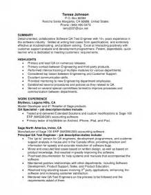 sample cv qa engineer 1