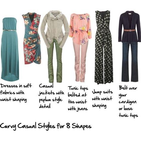 8 Fashion Tips For A More Look by Casual Looks For The Curvy Inside Out Style