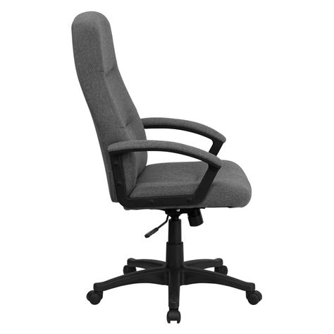 swivel office chair high back gray fabric executive swivel office chair bt