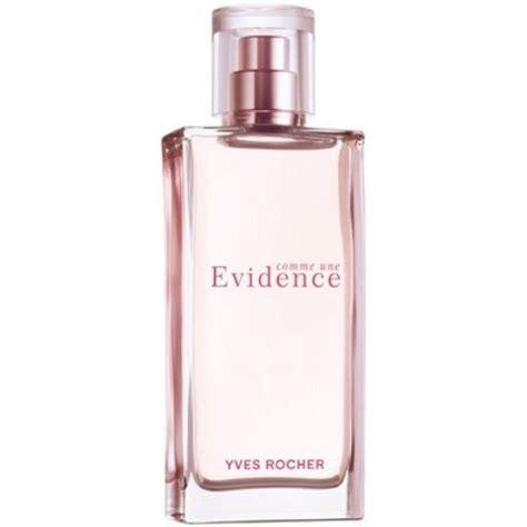 parfum comme une evidence de yves rocher osmoz