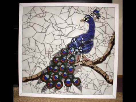 mosaic pattern peacock indian blue peacock youtube