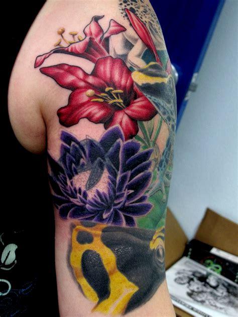 poison tattoo frogs chris black