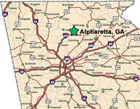 where is alpharetta on a map alpharetta patient reviews goodman dermatology