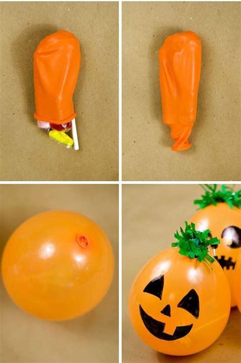 imagenes cumpleaños halloween c 243 mo hacer dulceros con globos para halloween