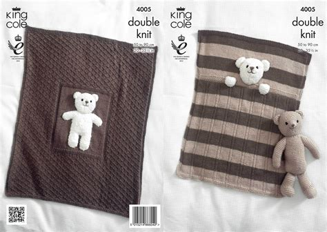 The Teddys And Toys Address Book king cole 4005 knitting pattern baby blankets and teddy