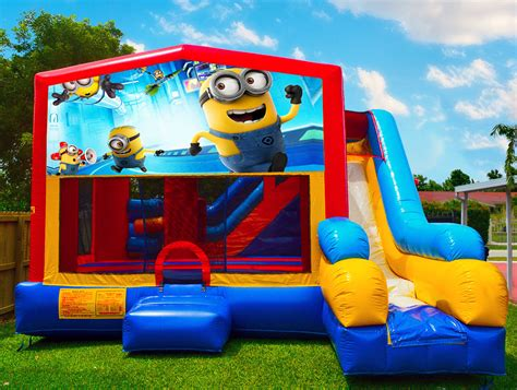 Minion Bounce House minions bounce house bounce house rentals in miami fl
