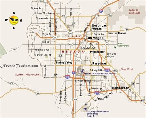 Las Vegas Nevada Map by Las Vegas Nevada Map Related Keywords Amp Suggestions Las