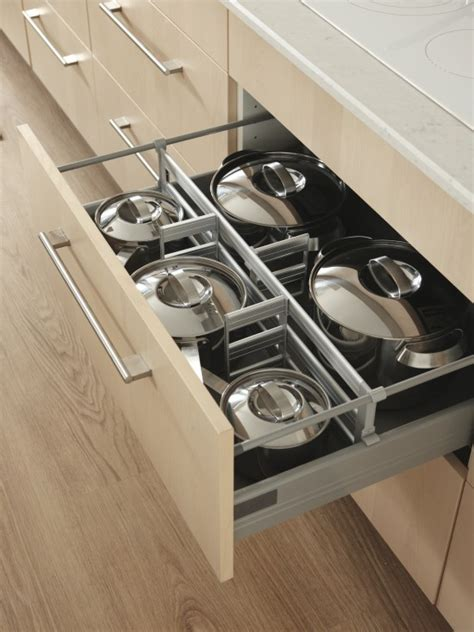 Kitchen Pot Drawers by The Drawer Story Third Story Ies