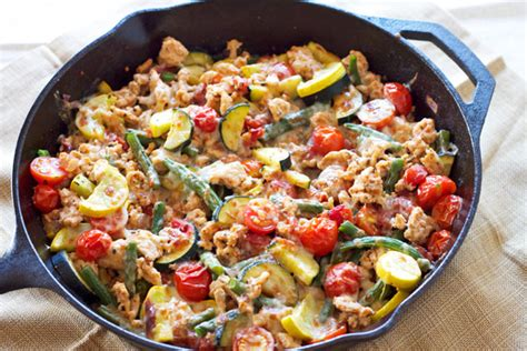 turkey and vegetable skillet recipe runner