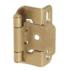 Self Closing Hinges For Kitchen Cabinets Self Closing Mount Cabinet Hinge 3 8 Quot Inset Set Of 2 Hardware