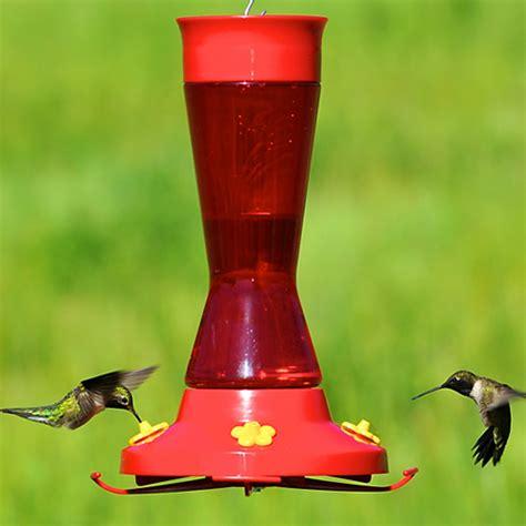 duncraft com large pinch waist hummingbird feeder