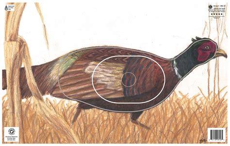 Printable Pheasant Targets | pheasant paper archery target