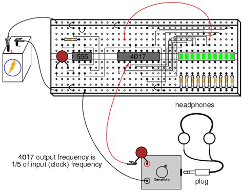integrated circuits lab experiments led sequencer