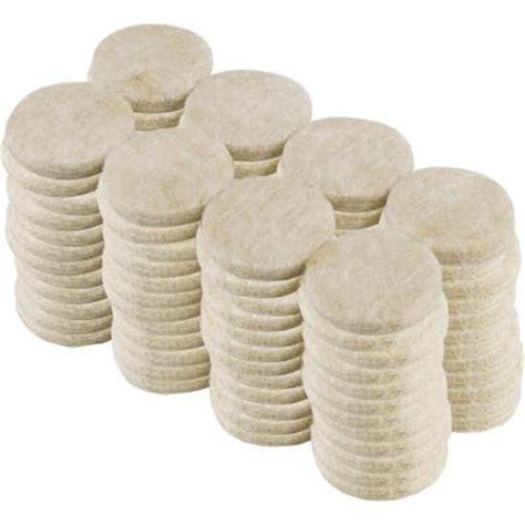 everbilt 1 in beige heavy duty self adhesive felt pads