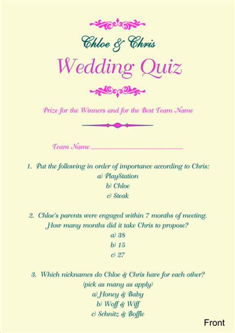 Wedding Planner Quiz by Wedding Quizzes Images Wedding Dress Decoration And