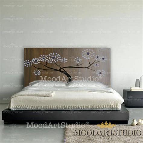 quadro testata letto testiera da letto con albero astratto per la casa e per