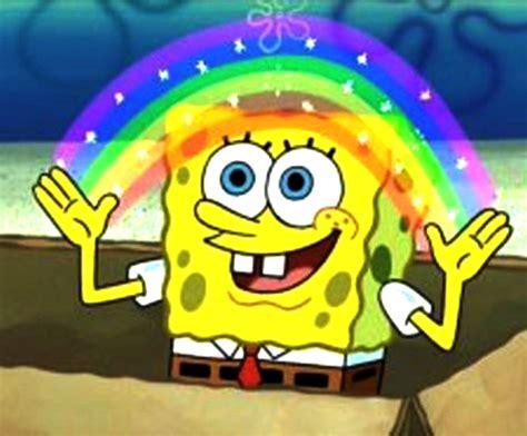 imagenes que se mueven de bob esponja archivo bob esponja y un arcoiris jpg wiki bob esponja