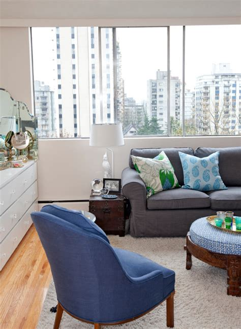 West End Decor by West End Studio Eclectic Living Room Vancouver By