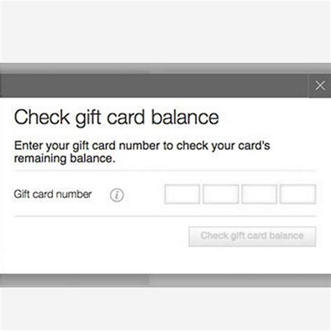 Gift Card Balance Checker - gift card balance static content m s