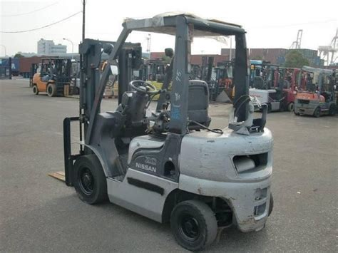 nissan forklift parts nissan forklift pl02 2003 used for sale