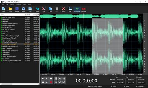 song editor dj audio editor audio application to create edit and