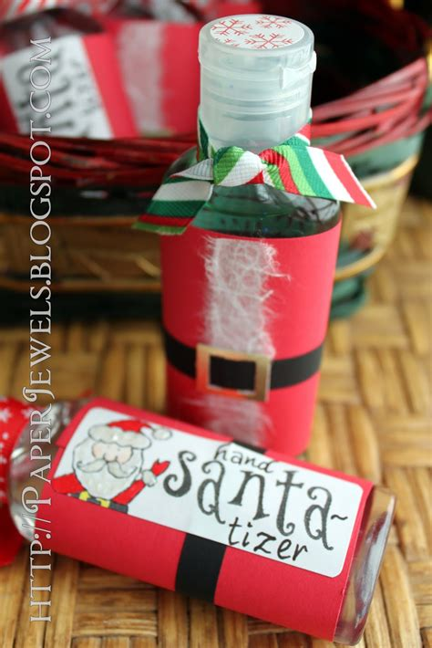 cute christmas gifts for coworkers paper jewels and other crafty gems easy treat santa tizer