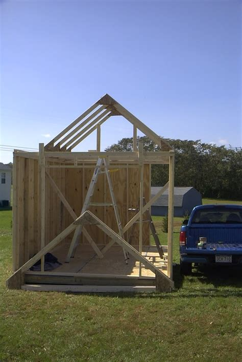 Trusses For A Shed by Building Trusses For A Shed