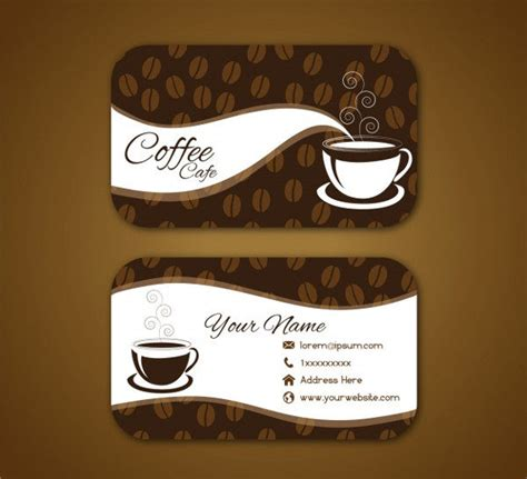 Coffee Business Card Template Free by 23 Coffee Business Card Templates Free Premium