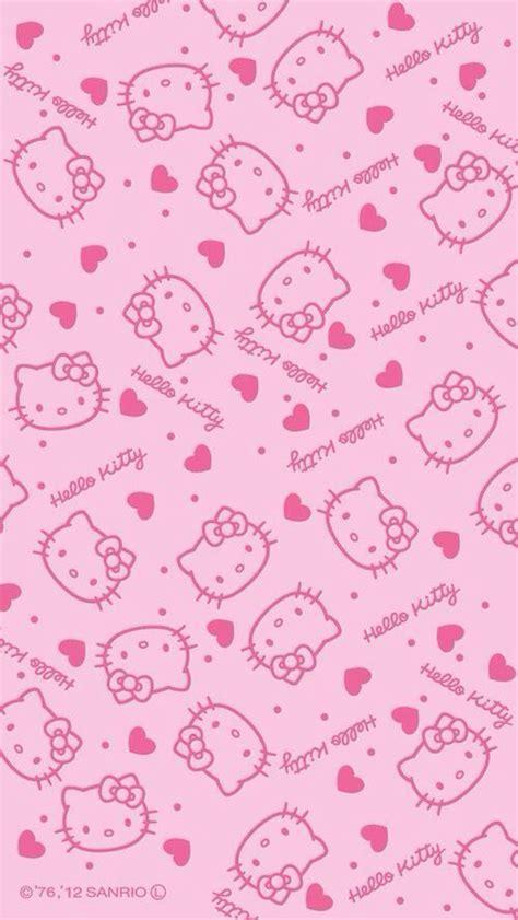 wallpaper hello kitty pink 240x320 pin by xandra funk on hello kitty backgrounds pinterest
