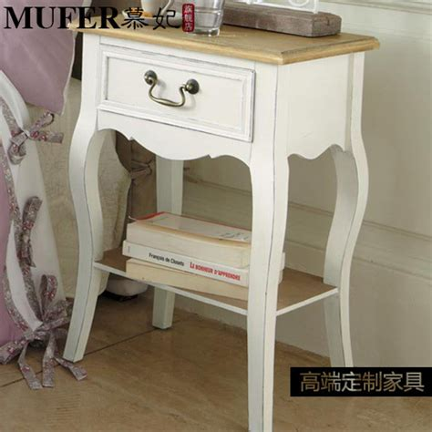 corner nightstand bedroom furniture mu fei custom wood corner a few side several mediterranean