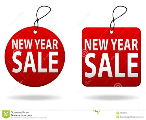 new year sales song new year sale tags stock vector image of ecommerce