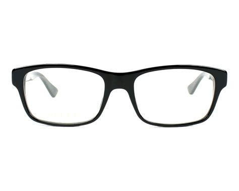 Gucci 0006 5 Warna gucci eyeglasses gg 0006 o 005 black visionet