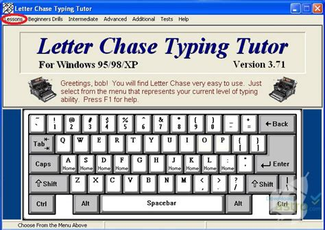tutorial on keyboard typing letter chase learn the keyboard latest version 2018