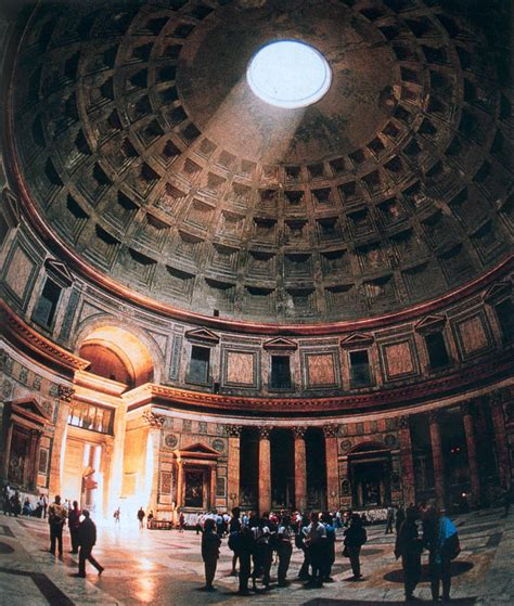 Interior Of Pantheon pantheon historical facts and pictures the history hub