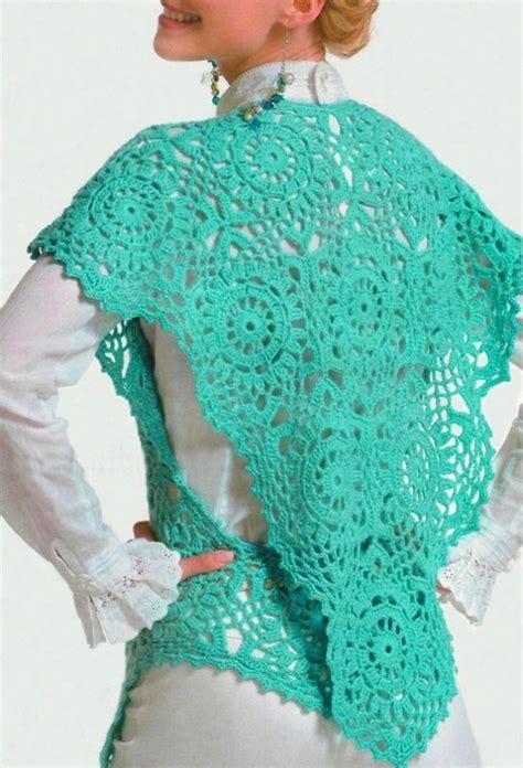 Triangle Pattern Vest | crochet wrap pattern boho crochet triangle vest pattern