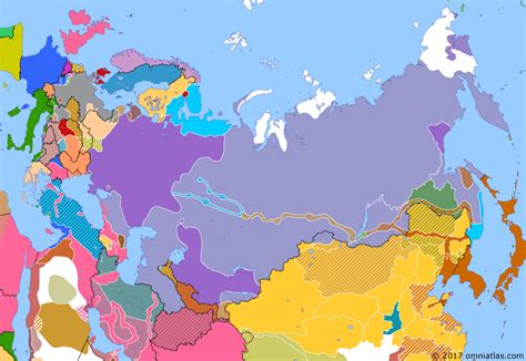 political map of europe russia and republics revolution in europe historical atlas of russia 30